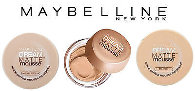 Maybelline Dream Matte Mousse Foundation Brand New & Sealed 18G **choose Shade**