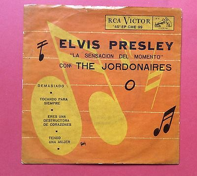 Elvis Presley-Another Mega Mega Rare Ep From Chile