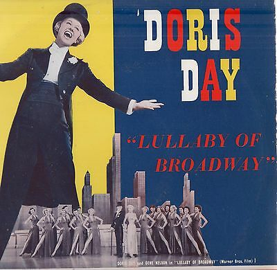 "Doris Day - 'Lullaby Of Broadway' 1950s UK Columbia 10"" Mono LP. Ex!"