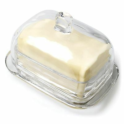 """7"""" Large Rectangle Covered Butter Dish"""