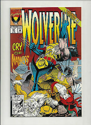 Wolverine  #51 NM (Vol 2)