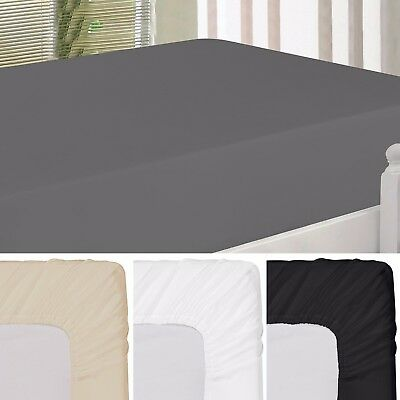 Fitted Sheet Brushed Ultra Comfortable Luxury Soft Microfiber By Utopia Bedding