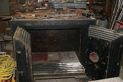 Antique, vintage safe from 1860's, made in New York