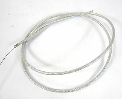 Lambretta extra long friction free braided throttle cable, MB