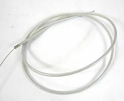 Lambretta extra long universal friction free braided throttle cable, MB