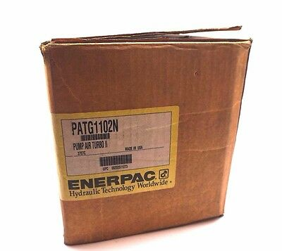 New Enerpac Patg1102N Turbo Ii Air Pump