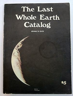 The Last Whole Earth Catalog June 1971 FIRST PRINTING