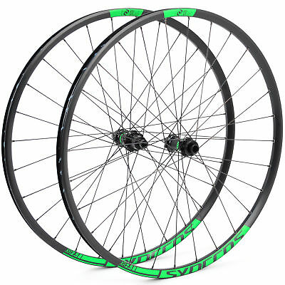"DT Swiss Syncros XR2.5 27.5"" Mountain Bike TLR Wheelset // 15x100mm // 12x142mm"