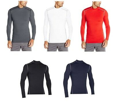NEW Under Armour Men's ColdGear Armour Compression Long Sleeve Mock Shirt