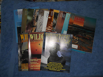 Lot of 11 Ducks Unlimited Magazines & 3 Wildfowl Magazines 1990 1991 hunting