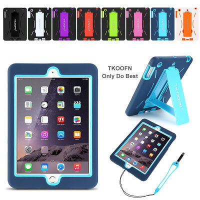HEAVY DUTY KIDS SHOCK PROOF STAND CASE COVER LOT FOR APPLE iPad 4/3/2 MINI AIR