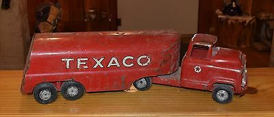 Wow Found This On Laguna Pueblo!! Old 1950's Texaco Toy Truck!!!! Free Shipping