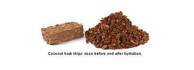 Coco husk chips Brick