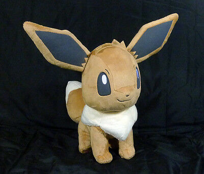 POKEMON - Evoli Eevee grande Peluche 30 cm Banpresto JAPON 2017 plush RARE