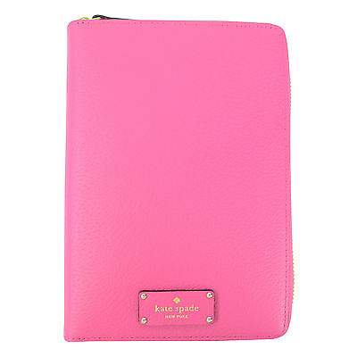 NEW Kate Spade Wellesley Hot Pink Zip Personal Planner Organizer Agenda