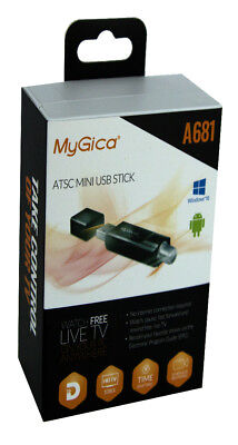 MyGica A681 ATSC QAM OTA Live Local Antenna HDTV USB Digital Tuner Windows PC