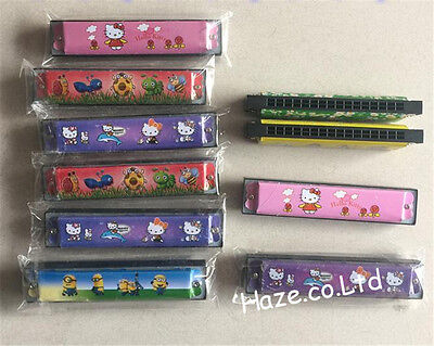 16 Holes Children Kids Funny Harmonica Musical Instrument Educational Toy Gifts