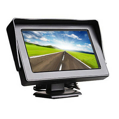 "FPV 4.3"" TFT LCD Car Monitor Screen for Car Rearview Reverse Backup Carmera"