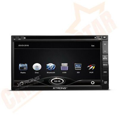 "UK 7"" HD 2 DIN Sat Nav Car GPS Navigation CD DVD Player Radio for AUDI A3 S3 RS3"