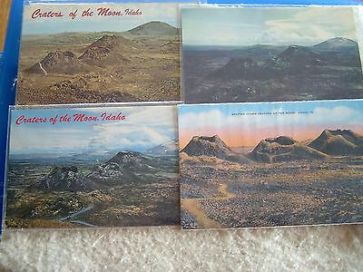 Craters Of The Moon, Idaho - Lot Of 20 Assorted - 1940's -1970's Post Cards