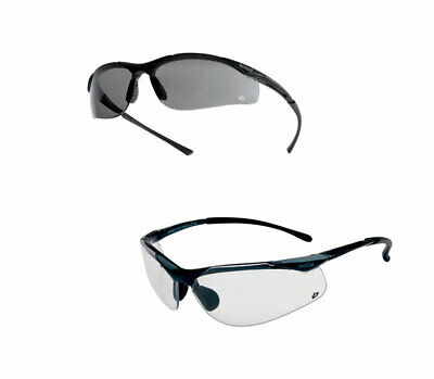 BOLLE Sidewinder Safety Glasses * Clear/Smoke/Polarised Lens Medium Impact