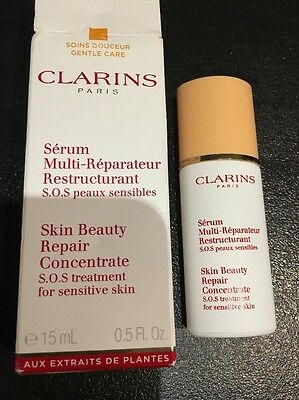 Clarins Skin Beauty Repair Concentrate S.o.s Treatment For Sensitive Skin - 15ml
