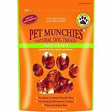PET-307720 - Pet Munchies Duck Twists 80g