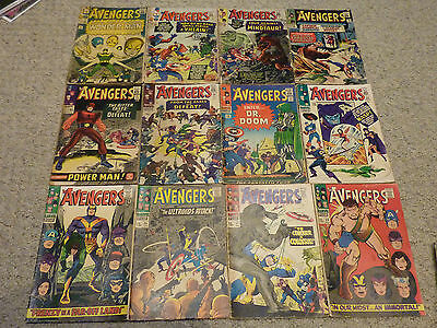 The Avengers | Volume 1 Lot (1963) | Issues between #9-397 (297 comics)