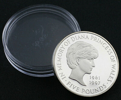 1999 In Memory of Diana Princess of Wales £5 Five Pound Coin PROOF (JZ52)