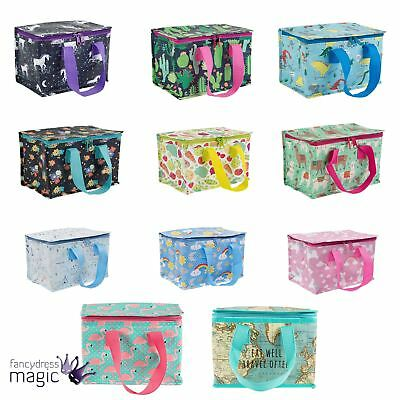 Sass & Belle Insulated Recycled Lunch Bag Picnic Kids Tote Cooler School Gift