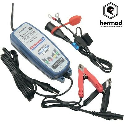 Tecmate Optimate 2 Motorcycle Battery Charger Optimiser 12V