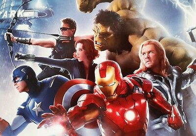 The Avengers Movie Film Large A4 Poster Picture Print Art