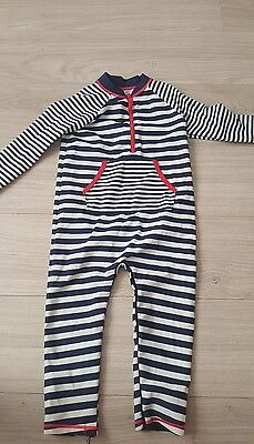 baby boys all in one uv protection swim suit swimming outfit with poppers upf 40