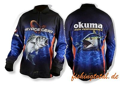 SAVAGE GEAR Tournament Jersey Seabass/Tuna size selectable Competition Shirt