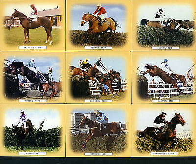 GRAND NATIONAL (winners 1976-1995) - Collectors Card Set by GDS Cards - Red Rum