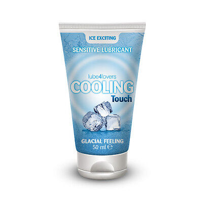 Lubricante Efecto Frio Base Agua Cooling Touch 50 Ml