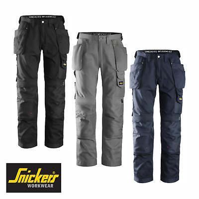Snickers Work Trousers 3211 Lightweight Cooltwill Pants With Holster Pockets