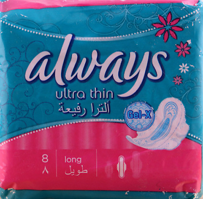 ** 4 X Always Ultra Thin Ultra Fine Long 32 Towels New *  Ladies Hygeine