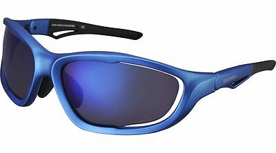 Shimano CE-S60X-PL Polarized grey blue mirror Cycling Sport Sun glasses BNIB