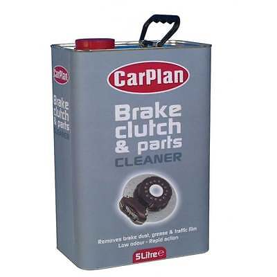 Brake Clutch Fluid Part Cleaner Degreaser 5L Dust Grease 5 Litre Carplan BPC050