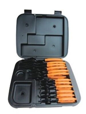 Lang 12 Piece Combination Internal/External Snap Ring Pliers Set 3495