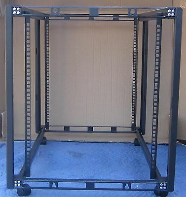 """New 12U 19"""" Rackmount Server Rack with casters for Servers 35"""" deep"""