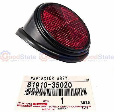 GENUINE Right Rear Red Reflector for Toyota Hilux LN106 RN105 8/1991-7/1997