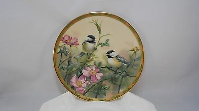 Lenox Rose Morning by Catherine McClung from the Nautre's Collage Plate series