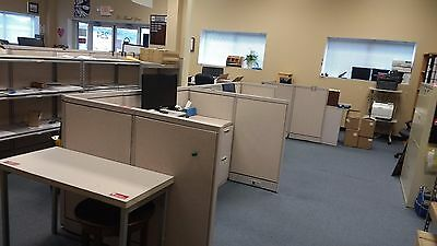 Office Cubicles / Partitions, work surfaces and drawer units $275 for all