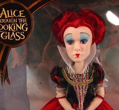 """Alice Through the Looking Glass 11.5"""" Deluxe Red Queen Collector Doll NEW MIB"""