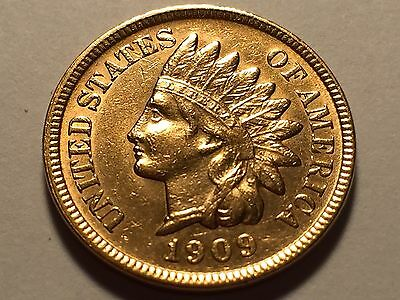 1909-S Indian Head Cent * Penny * Choice BU Red * Nice Luster
