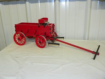 Vintage Style Horse Drawn Hand CLASSIC GRAIN WAGON Drafter or Clydesdale Models