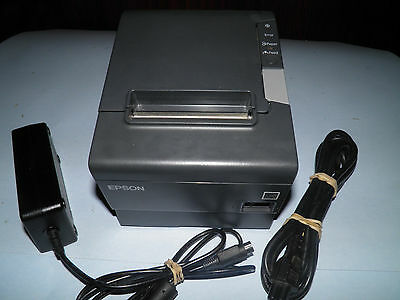 Epson TM-T88V  M244A Thermal POS Receipt Printer Ethernet w Power Supply