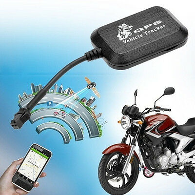 Mini Car Motorcycle GPS Tracker Locator Vehicle GSM LBS Realtime Tracking Device